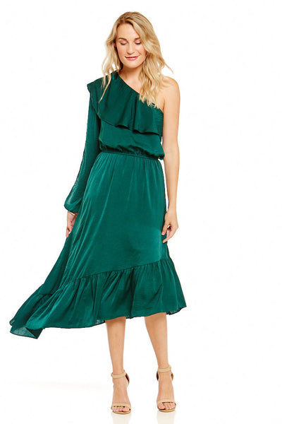 fab'rik - Asher Ashland One Shoulder Dress image thumbnail