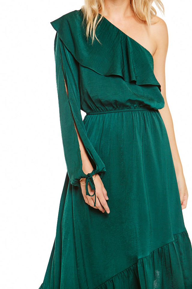 Asher Ashland One Shoulder Dress