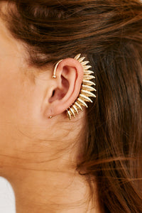 fab'rik - Light As A Feather Ear Clip - Gold ProductImage-13286560038970