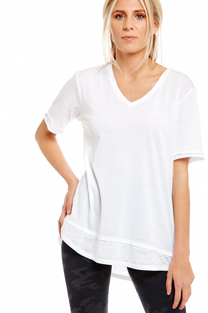 fab'rik - FREELOADER LACI V-NECK TEE ProductImage-4618957652026