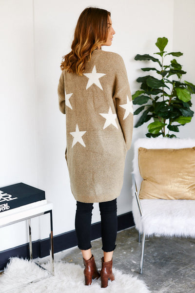 fab'rik - Blank NYC Count Your Stars Cardigan image thumbnail