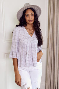 Collins Babydoll Blouse