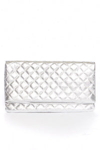Wendy Metallic Quilted Bag