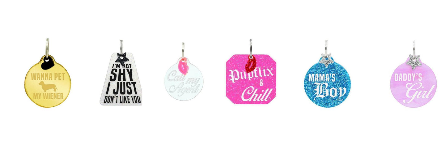 Dog Tags | Coco and Chili's Shop