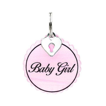 Rebel Dawg Dog Tag - Baby Girl