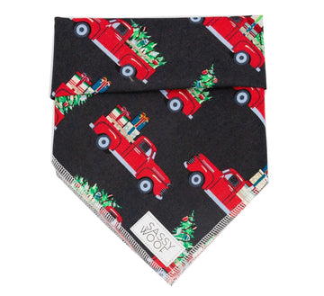 Bandana - Santa's Truck - Coco and Chili's Shop