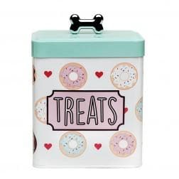 Barkers Dozen Treats Metal Canister - Coco and Chili's Shop