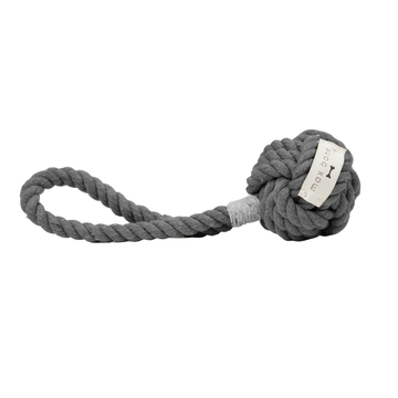 Mini Hobie Grey Rope Toy