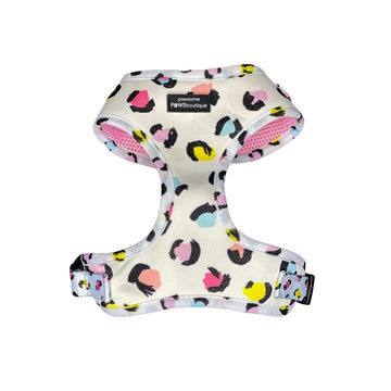 Adjustable Harness – Pastel Leopard
