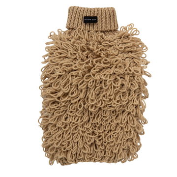 Curly Knit Jumper - Sand