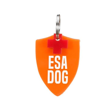 Rebel Dawg Dog Tag - ESA DogShield