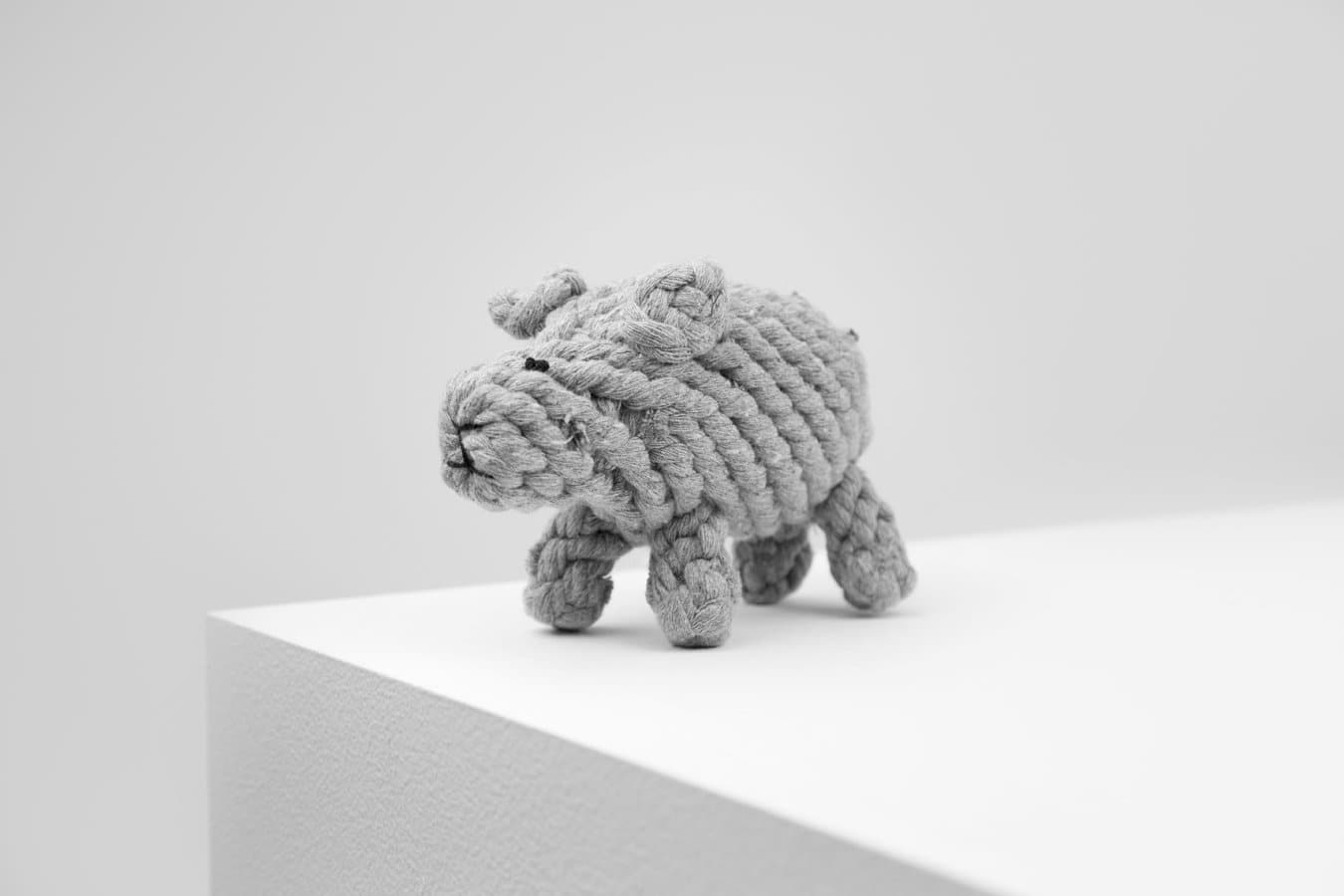Dolly Sheep Rope Toy - Grey