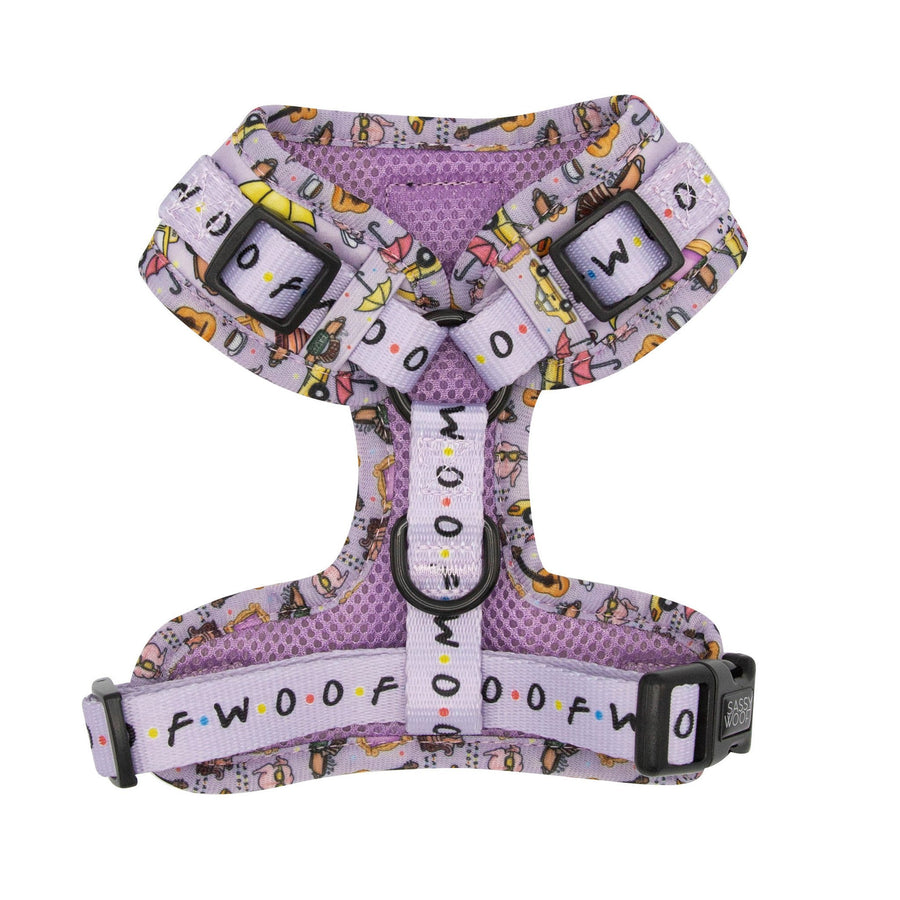 Adjustable Harness - The One with the Sassiest Woof