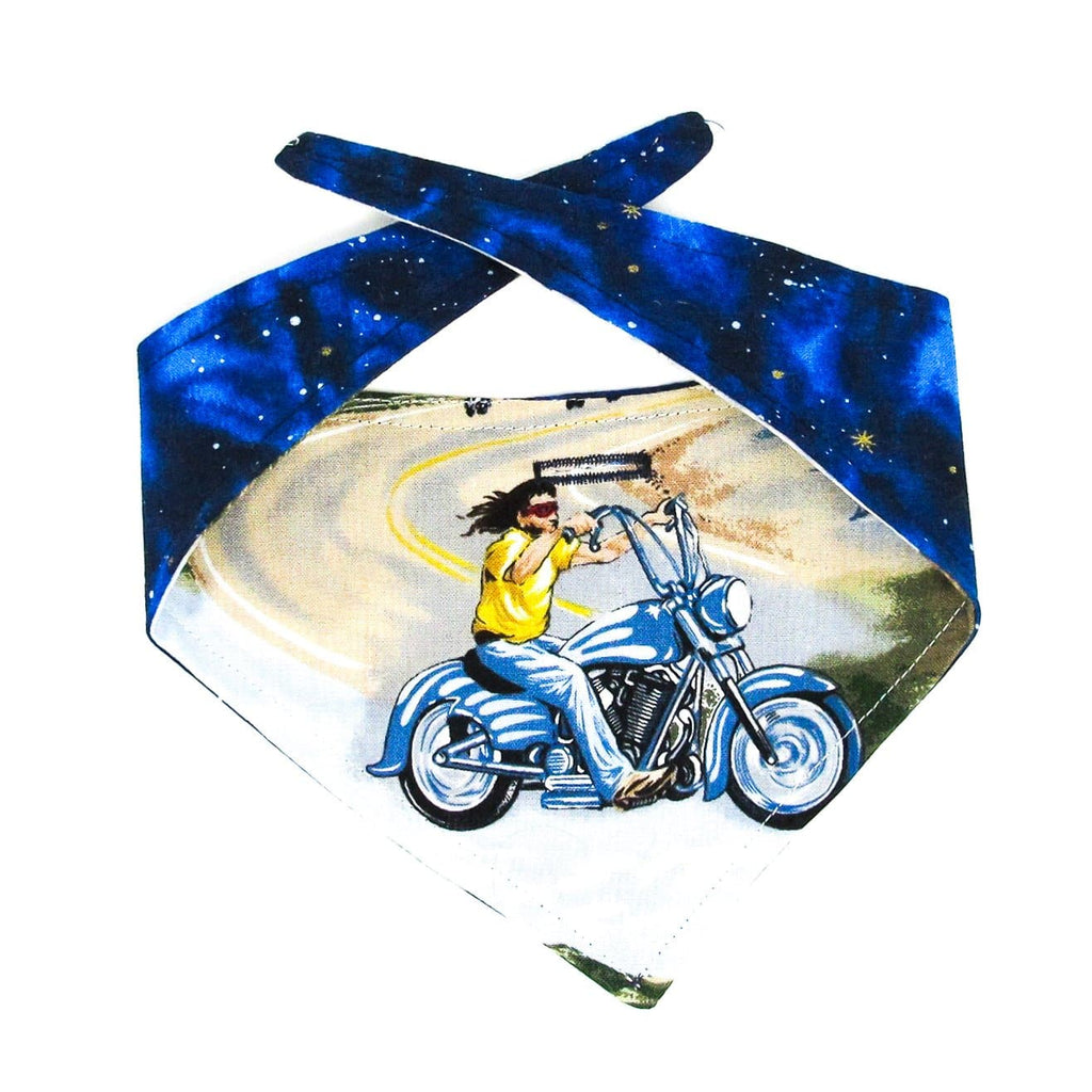 Bandana, Motorcycle, Reversible