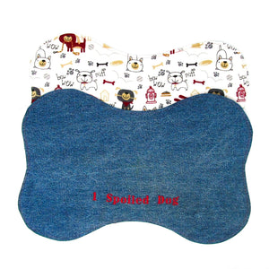 Embroidered Placemat, 1 Spoiled Dog