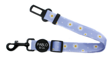 Adjustable Car Restraint - Blue Daisy
