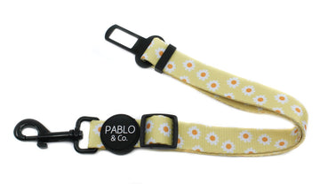 Adjustable Car Restraint - Yellow Daisy