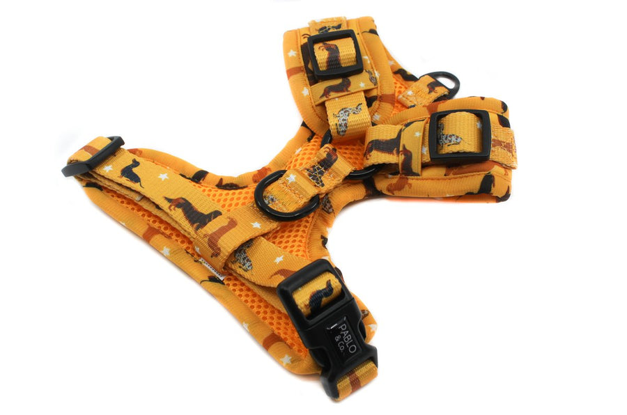 Adjustable Harness - Dachshund Crew