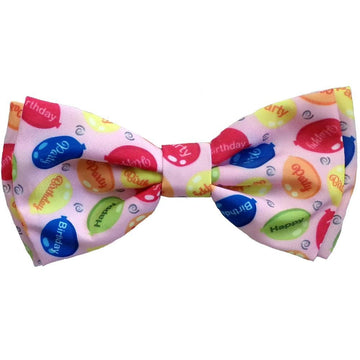 Novelty Bowtie - Party Time Pink
