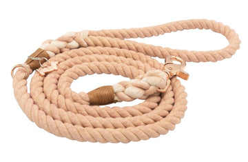 Rope Leash - Beige