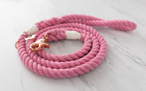 Rope Leash - Cotton Candy