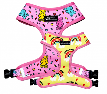 Reversible Harness – Gummy Bear - Coco and Chili's Shop