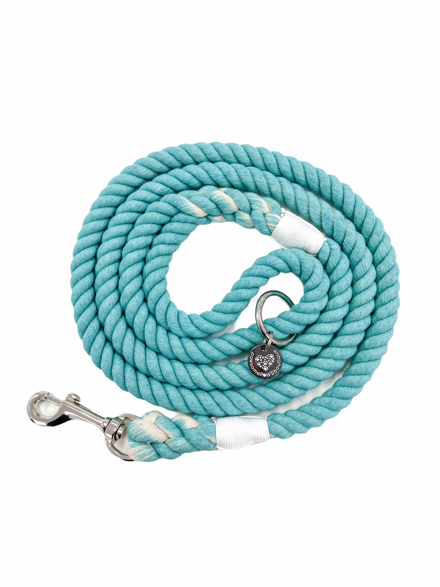 Pawsome Rope Leash - Emerald