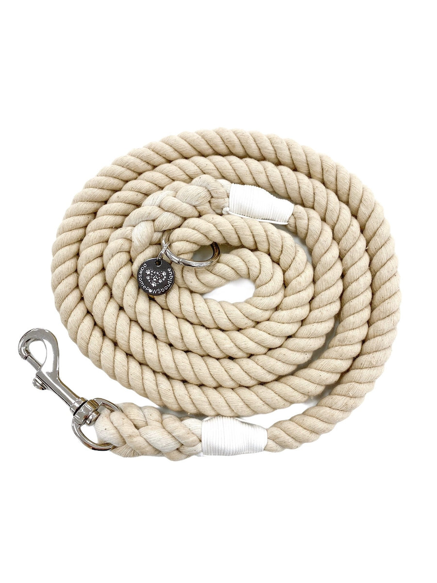 Pawsome Rope Leash - Natural Beauty
