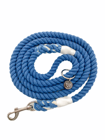 Rope Leash - Royal Blue
