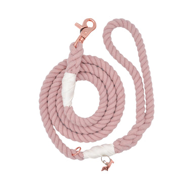 Sassy Rope Leash - Rose All Day