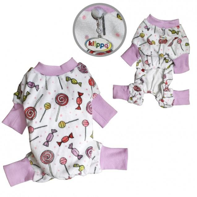 Ultra Soft Minky Sweet Candies Pajamas