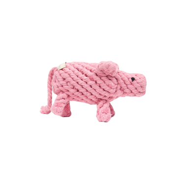 Dolly Sheep Rope Toy - Pink