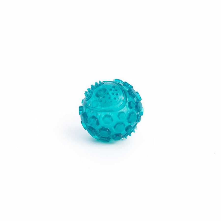 ZippyTuff Squeaker Ball - Large - Teal - Coco and Chili's Shop