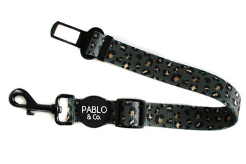 Adjustable Car Restraint: Khaki Leopard - Coco and Chili's Shop