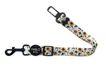 Adjustable Car Restraint - Sunflowers - Coco and Chili's Shop