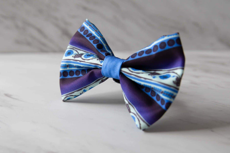 Bowtie - Deep Blue - Coco and Chili's Shop