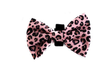 Bowtie - Pink Leopard - Coco and Chili's Shop