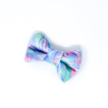 Bowtie - Rainbow Kiss - Super Soft Velvet - Coco and Chili's Shop