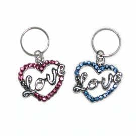 Charm - Love Heart - Coco and Chili's Shop
