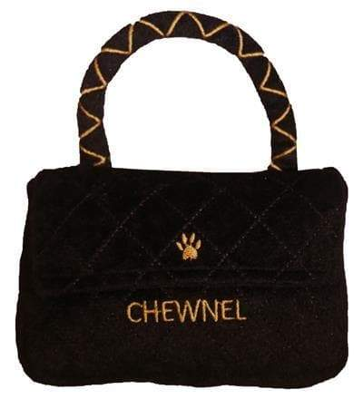 Chewnel Classique Black Purse - Coco and Chili's Shop