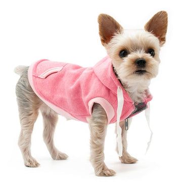 Drawstring Hoody Pink - Coco and Chili's Shop