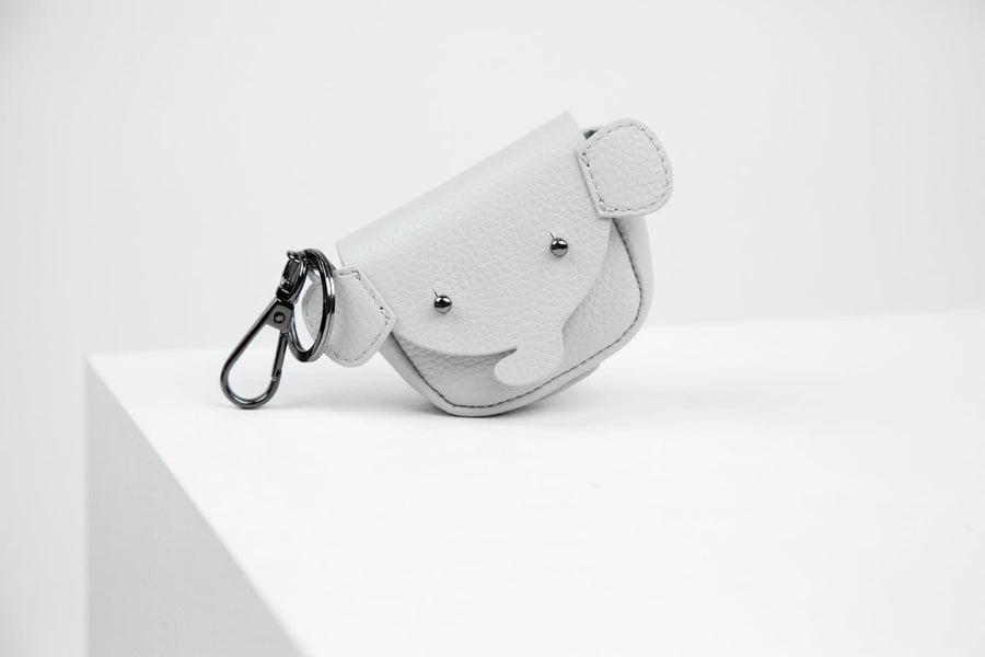 Elma Poop Bag Holder - Grey - Coco and Chili's Shop