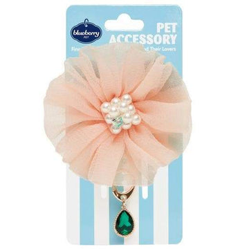 Iconic Pet - Flower and Waterdrop Pendant - Coco and Chili's Shop