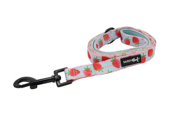 Leash - I woof you berry much - Coco and Chili's Shop