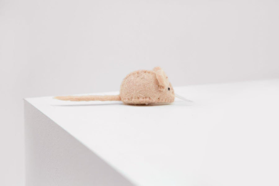 Mouse Felt Toy - Blush - Coco and Chili's Shop