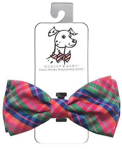 Novelty Bowtie - Sweet Tart Plaid - Coco and Chili's Shop