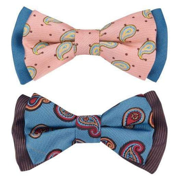 Paisley Fave Designer Bow Tie Set - Coco and Chili's Shop