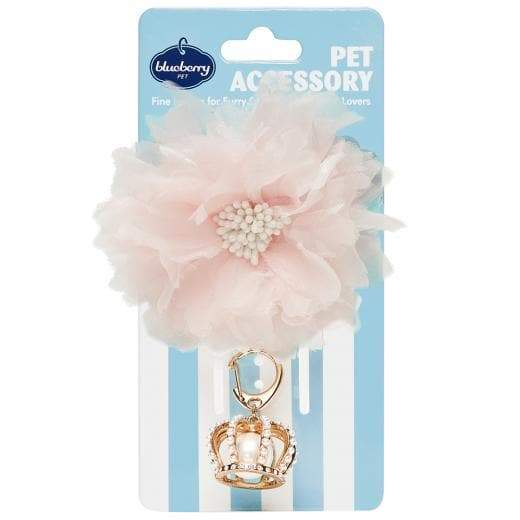 Princess-to-be - Flower and Crown Pendant - Coco and Chili's Shop