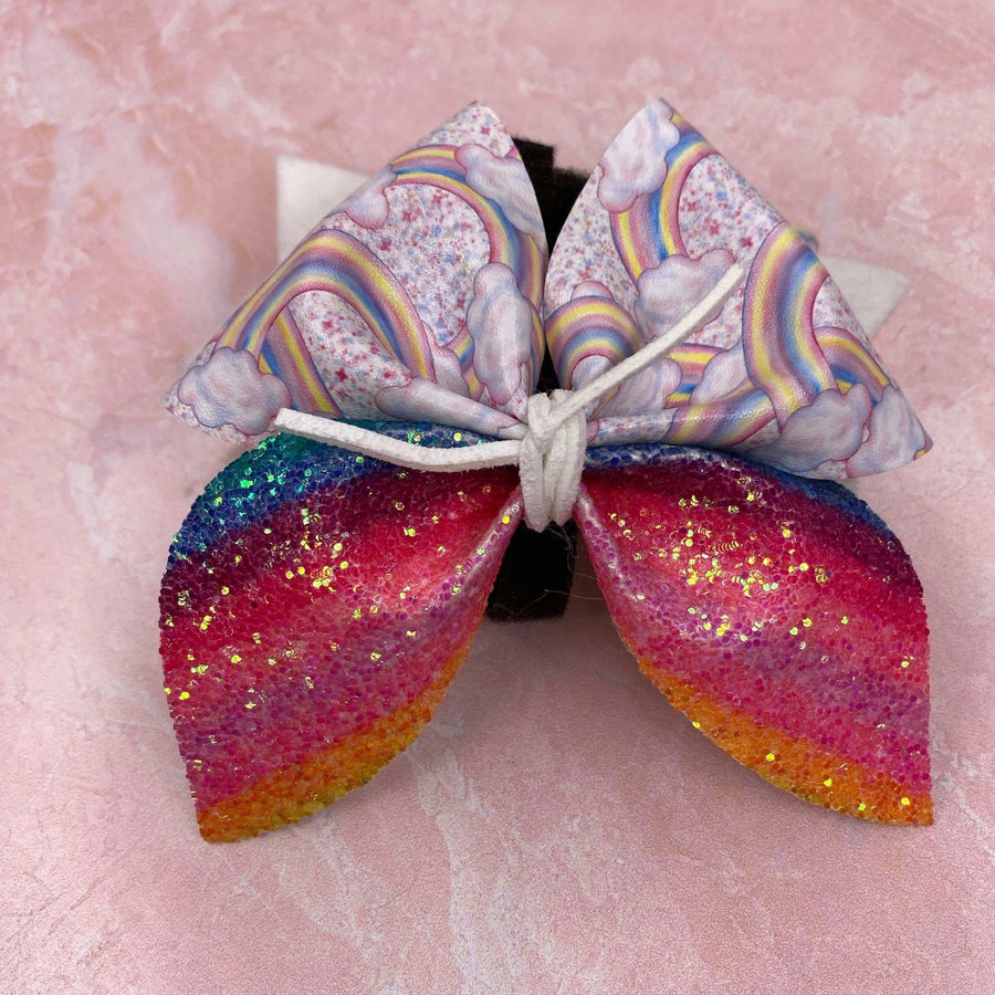 Rainbow Bow - Coco and Chili's Shop