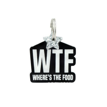 Rebel Dawg Dog Tag - Where's The Food - Coco and Chili's Shop